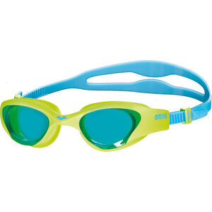 arena The One Goggles Kinder lightblue-lime-blue lightblue-lime-blue