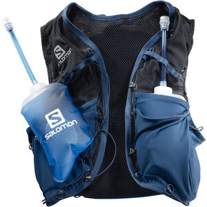 Salomon Adv Skin 8 Backpack Set Damen poseidon/night sky poseidon/night sky