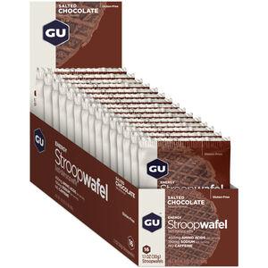 GU Energy Stroop Waffel Box 16x32g Salted Chocolate
