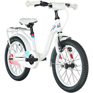 s'cool niXe 16 steel white/blue/red bei fahrrad.de Online