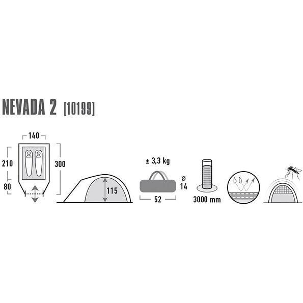 High Peak Nevada 2 Tent
