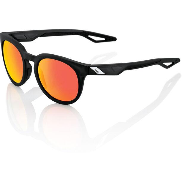 100% Campo Glasses matte crystal black | hd red multilayer/hiper lense