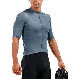 2XU Elite Cycle Jersey Herren slate grey/slate grey slate grey/slate grey