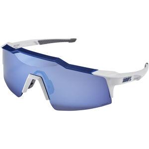 100% Speedcraft Glasses Small matte white/blue matte white/blue