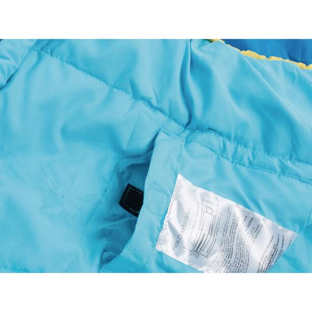 Grüezi-Bag Grow Colorful Sleeping Bag Kinder water