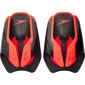 speedo Fastskin Hand Paddle black/siren red black/siren red