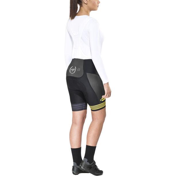 guilty 76 racing Velo Club Pro Race Bib Shorts Damen black