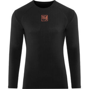 Compressport 3D Thermo UltraLight LS Shirt Unisex Black bei fahrrad.de Online