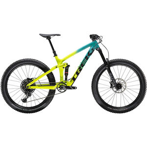 Trek Remedy 9.7 27.5 teal to volt fade teal to volt fade