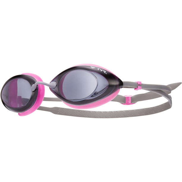 TYR Tracer Racing Goggles Damen smoke/pink/grey