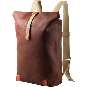 Brooks Pickwick Canvas Rucksack Medium rust/brick rust/brick