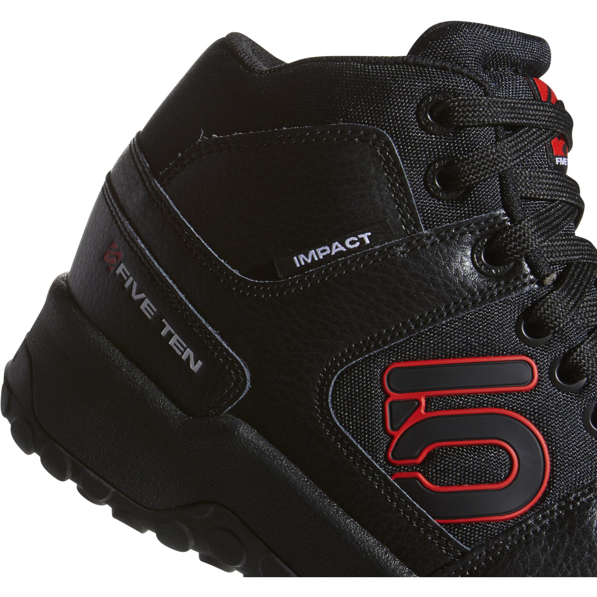 adidas Five Ten Impact High Shoes Herren core blackredftwr white