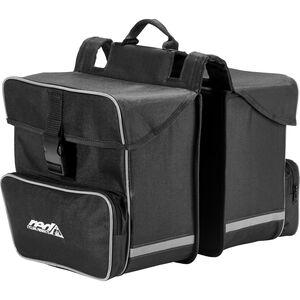 Red Cycling Products Premium Double Bag Gepäckträgertasche schwarz bei fahrrad.de Online