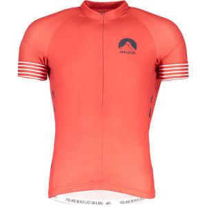 Maloja LagalbM. Short Sleeve Bike Jersey Men maple leaf