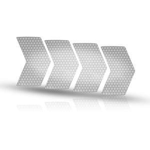 rie:sel design re:flex Reflektierende Aufkleber für Felgen silver silver