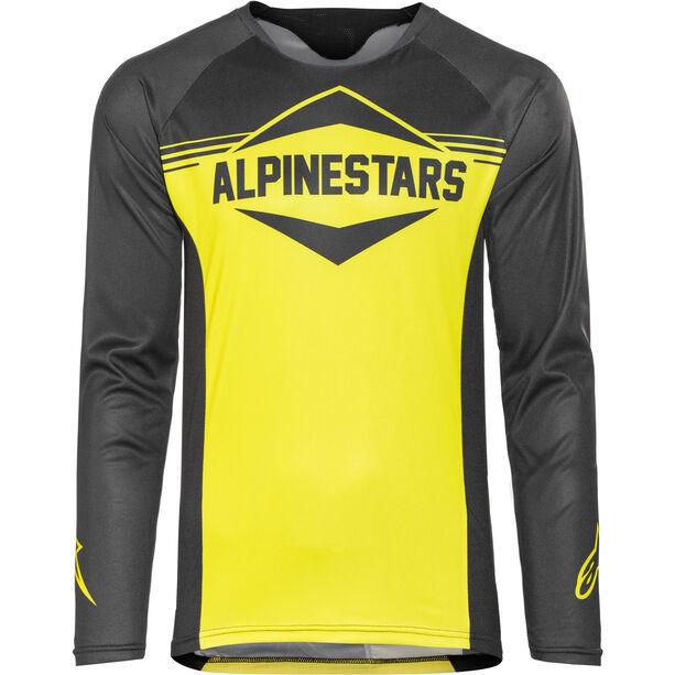 Alpinestars Mesa Longsleeve Jersey Herren black acid yellow