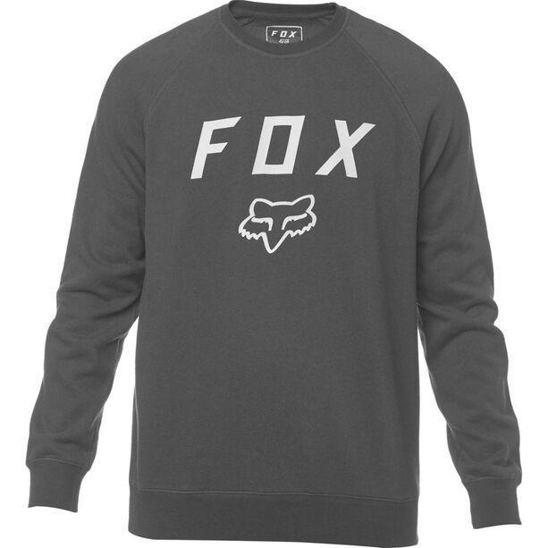 Fox Legacy Crew Neck Fleece Pullover Herren black