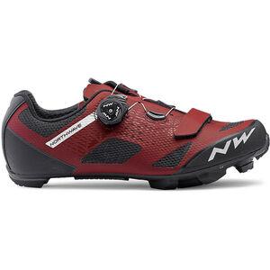 Northwave Razer Shoes Herren dark red dark red