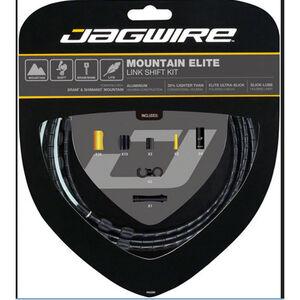 Jagwire Mountain Elite Link Schaltzugset schwarz bei fahrrad.de Online