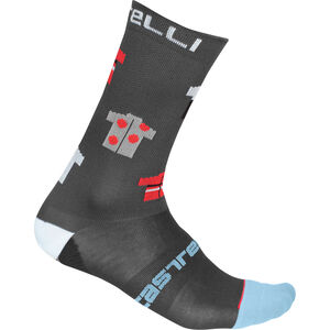 Castelli Pazzo 18 Socken dark gray dark gray