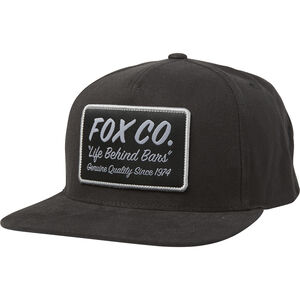 Fox Resin Snapback Hat Men black bei fahrrad.de Online