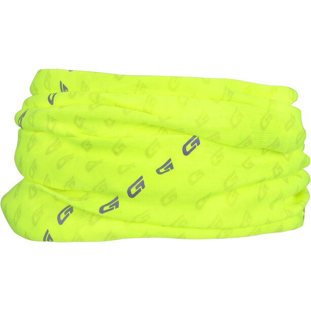 GripGrab Multifunctional Reflective Hi-Vis Neck Warmer fluo yellow