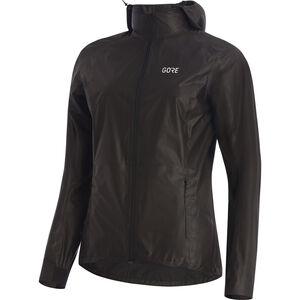 GORE WEAR R7 Gore-Tex Shakedry Hooded Jacket Damen black black