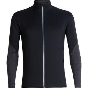Icebreaker Tech Trainer Hybrid Jacket Herren black/jet heather black/jet heather