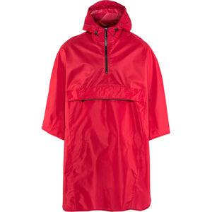 AGU Grant Poncho Unisex burgundy red