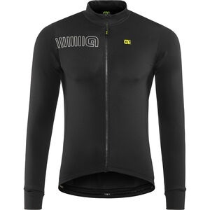 Alé Cycling Solid Color Block Longsleeve Jersey Herren black black
