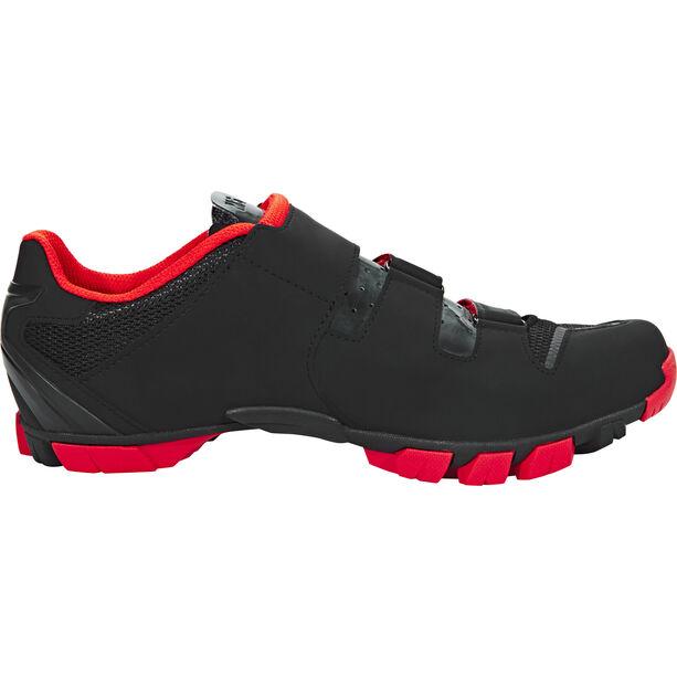 Fizik M6B MTB Schuhe Herren schwarz/rot
