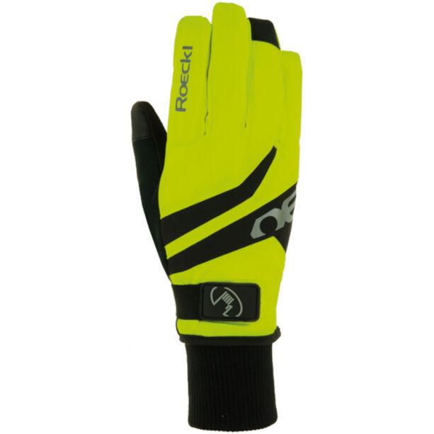 Roeckl Rocca GTX Fahrradhandschuhe neon yellow