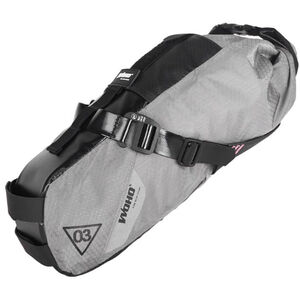 WOHO X-Touring Saddle Dry Bag S honeycomb iron grey honeycomb iron grey