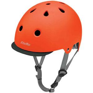 Electra Solid Color Bike Helmet tangerine matte bei fahrrad.de Online