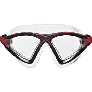 arena X-Sight 2 Mask clear-clear-red clear-clear-red