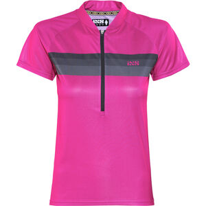 IXS Trail 6.1 Shortsleeve Jersey Women pink/black bei fahrrad.de Online
