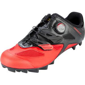 Mavic Crossmax Elite Shoes Herren black/fiery red/black black/fiery red/black