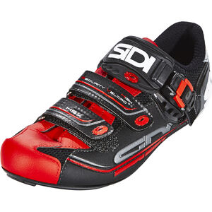 Sidi Genius 7 Shoes Herren black/red black/red