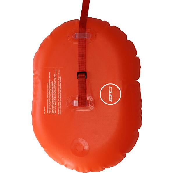 Zone3 Swim Safety Boje/Hydratationskontrolle hi-vis orange