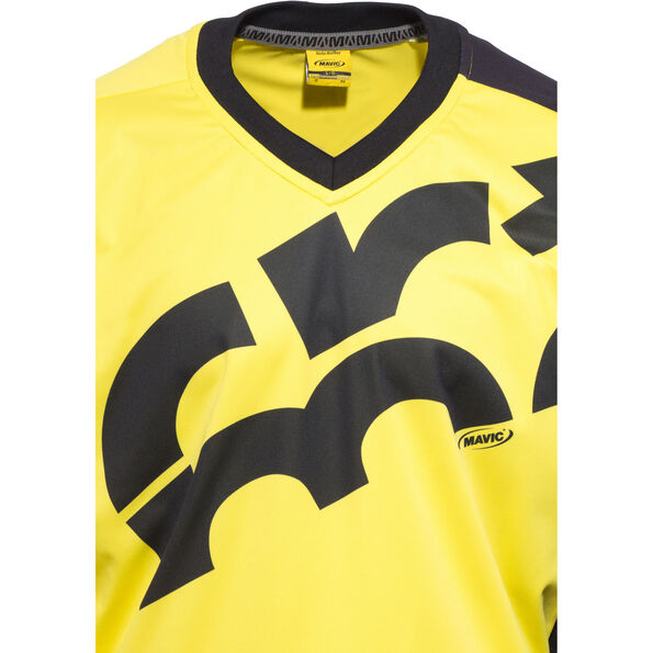 Mavic CrossMax Jersey LS Herren yellow mavic/black