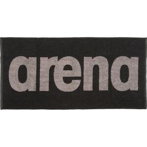 arena Gym Soft Towel black-grey black-grey