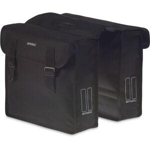 Basil Mara Doppel-Gepäckträgertasche schwarz schwarz