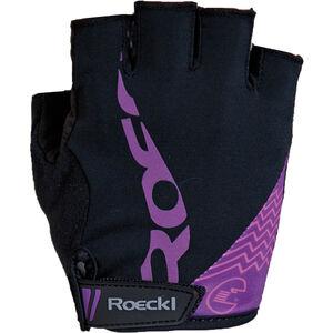 Roeckl Doria Handschuhe Damen schwarz/purple