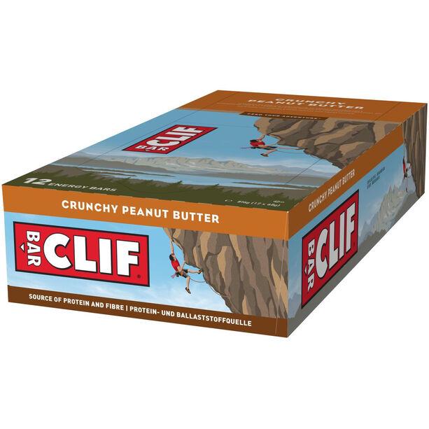 CLIF Bar Energy Riegel Box 12x68g Crunchy Peanutbutter
