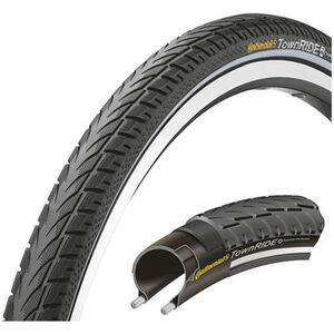 "Continental Town RIDE Reifen 26 x 1,75"" Puncture Protection Draht Reflex"