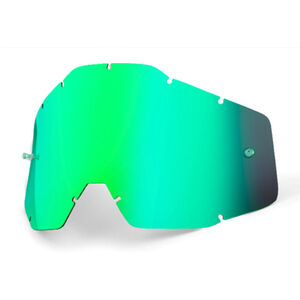 100% Replacement Lenses green / mirror green / mirror