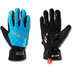 Cube Natural Fit X-Shell Langfinger Handschuhe blue