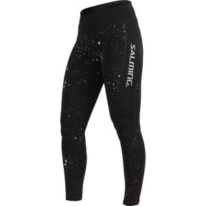 Salming Reflective Tights Women Black/Silver Reflective bei fahrrad.de Online