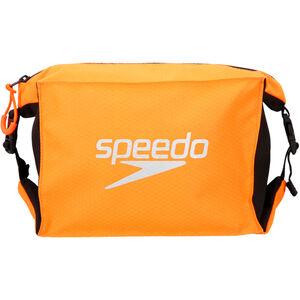 speedo Pool Side Bag 5l black/fluo orange black/fluo orange