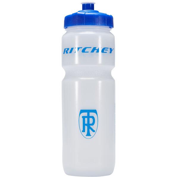 Ritchey Wasserflasche 750 ml transparent/ blue